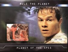 Planet Of The Apes Stamps Ss 2001 Science Fiction Imitation Sci-Fi Sheet Mark