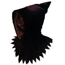 Adults Ghoul Grim Reaper Hooded Mask Demon Harry Fancy Dress Halloween Accessory
