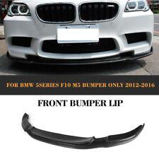 Echt Carbon Frontspoiler für BMW 5ER F10 M5 2012-17 Frontansatz Ansatz Diffusor