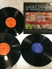 Lp Album Golden Treasury of Immortal Music