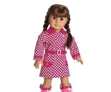 NEW NIB American Girl Doll Rainy Day Coat raincoat retired