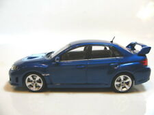 1/43 Ebbro Subaru Impreza WRX STi (blue) diecast