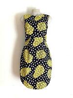 GORMAN!!! Cute 'Gorman' abstract print, fitted cotton dress