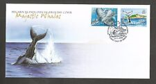 PITCAIRN ISLANDS 2006 HUMPBACK WHALES FDC SG,721-722 LOT 4910A