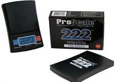 Proscale 222 x 0,1 g Taschenwaage Feinwaage Digitalwaage Waage digital Goldwaage