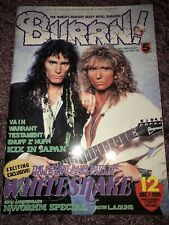 BURRN! Magazine Japan December 1989 Whitesnake