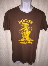 Vintage Bogies Coffee House T-shirt size adult Small/Medium by Screen Stars