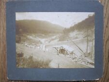 Construction Photo of the Jenkins, Letcher County, Kentucky Dam, c. 1912.