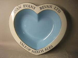 EVAN EVANS BEVAN LTD. VALE OF NEATH ALES EMPIRE PORCELAIN Staffordshire bowl