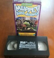 Jim Henson Muppet Sing-Alongs Muppet Treasure Island (VHS, 1996)