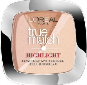 L'Oreal Perfect Match Blush Highlighter Powder Illuminator Rosy Glow (3 Pack)