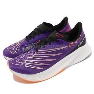 New Balance Fuelcell RC Elite V2 Carbon Purple Men Running Shoes MRCELVB2 D