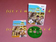 Wii _ Einsatz Erde Die Tierretter _ Sehr guter Zustand _ 1000 Spiele im SHOP