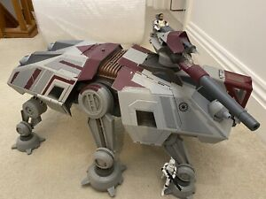 Star Wars AT-TE Clone Trooper Walker Vehicle Condition Used