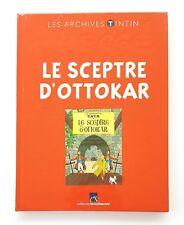 LES ARCHIVES TINTIN LE SCEPTRE D'OTTOKAR EDITIONS MOULINSART NEUF SOUS BLISTER