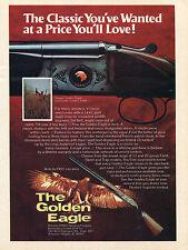 1975 Print Ad of Nikko The Golden Eagle Over Under Grade I Field Shotgun