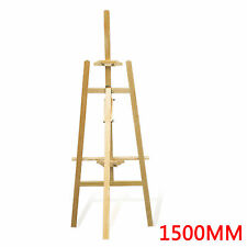 ADJUSTABLE WOODEN ARTIST PAINTING STUDIO DISPLAY TRIPOD EASEL(150CM HIGH)