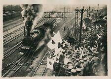 Conflit Sino-Japonais c. 1930 - Manifestants Train à Vapeur - PRM 431