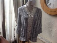 👀❤️❤️❤️Per Una @ Marks & Spencer👀 Size XL Grey Fleck Cardigan/jumper -VGC