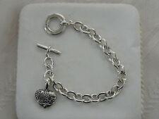 Designer LAGOS S/S Heart Of Texas Toggle Bracelet