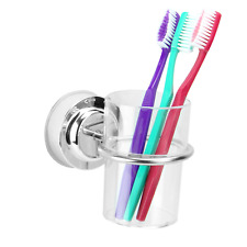 Suction Cup Toothbrush Tumbler Holder  Bathroom Cup Holder M&W