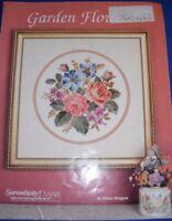 Serendipity Designs Garden Flowers Cross Stitch Book By Helen Burgess