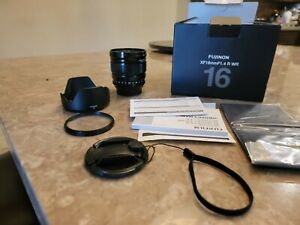 FUJIFILM XF 16mm f/1.4 R WR Lens Fuji with UV filter