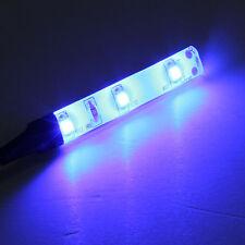 1/2/5Pcs 5cm 3528 SMD 3 LED 12V Waterproof Flexible Car Lamp Strip Light IP65