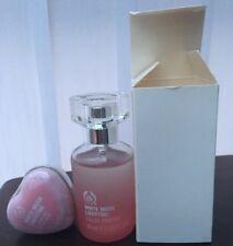 2 Pcs Bundle Body Shop White Musk Libertine Perfume 30ml & Solid Perfume 13g New