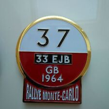 Mini Cooper Countryman Classic Clubman Badge grille badge montecarlo