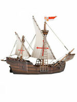 Prefabricated model of the sailing ship Caravel 15th century Portugal