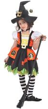 new child Kitty Witch HalloweenCostume Small size 4 child girl 2 piece