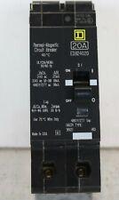 New Takeout Square D Edb24020 *20 Amp/ 480/ 270 Volt