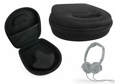Hard Black EVA Case for Skullcandy Lowrider / Uprock / Agent Headphones