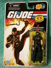Ninja-ku leader STORM SHADOW black  I GI joe 25th anniversary figure