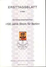 Briefmarken aus Berlin (1980-1990) aus Berlin mit Sonderstempel