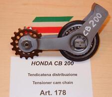 Honda CB200 Cappellini Moto #178 NEW cam chain roller & sprocket in orig.bracket