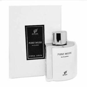 Pure musk  100ml EDP by Afnan Perfumes Musky Woody  Perfume Spray