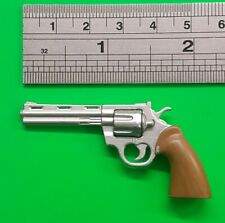 "1/6 scale Colt. 357 Magnum Revolver metal hand gun weapon for 12"" figure"