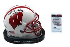 TJ Watt SIGNED Wisconsin Badgers Mini-Helmet - JSA WPP - Autographed
