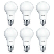 6x Philips LED Frosted E27 100w Warm White Edison Screw Light Bulbs Lamp 1521lm