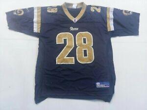 Marshall faulk  Reebok St. Louis Rams Home Jersey Size Large