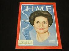 1964 AUGUST 28 TIME MAGAZINE - LADY BIRD JOHNSON - FRONT COVER - J 3355