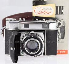 Kodak Retina IIIC con retina-Xenon C f:2/50mm, custodia, istruzioni #at