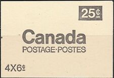 KAPPYSSTAMPS - WHAT-U-SEE-IS-WHAT-YOU-GET - X123 CANADA BOOKLET MNH