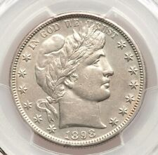 1898-S Barber Silver Half Dollar PCGS AU Details Type Coin About Uncirculated