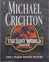 Michael Crichton The Lost World Jurassic Park 4 Cassette Audio Book FASTPOST