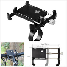 Adjustable Black Aluminum Alloy Motorcycles Handlebar Mount Phone Holder Bracket