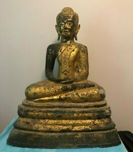 Thai Buddha Statue In Antique Southeast Asian Statues For Sale Ebay