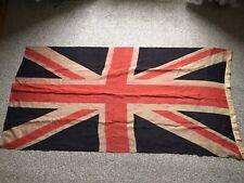 More details for large mid 20th century 182cm vintage british union jack flag